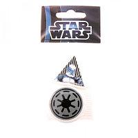 Ластики фигурные малые, 2 шт. Упаковка с европодвесом. Star Wars