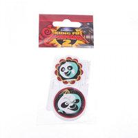Ластики фигурные малые, 2 шт. KungFu Panda