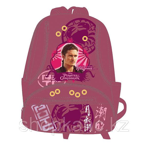 Школьный рюкзак, текстиль, размер 38х29х15 см