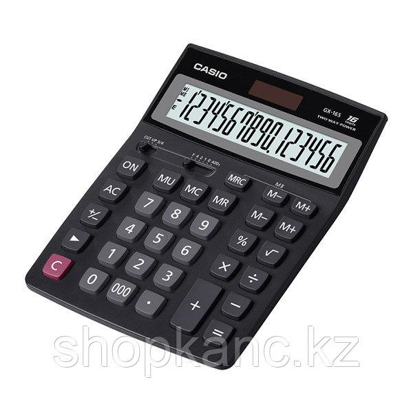 Калькулятор настольный, 16 разрядный, CASIO.
