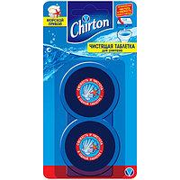 Чистящие таблетки для унитаза CHIRTON, Морской Прибой, 2 * 50 гр.