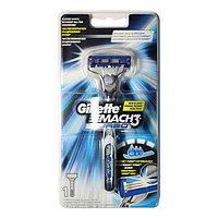 Бритва Gillette Mach3 Turbo с 1 кассетой
