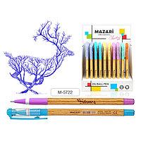 Ручка шариковая, SILVANO, цвет чернил синий, 0,7 мм, корпус пластиковый ассорти.