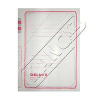 Скоросшиватель картонный, А4, 350 г., Deluxe.