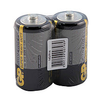 Батарейка Supercell, R14, C, 1,5 V, 2 штуки в плёнке.