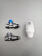 Комплект термостатический для радиатора Ду15 прямой