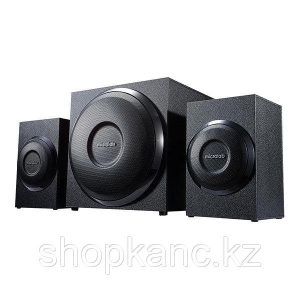 Акустическая система 2.1, М-110, 10W, черные.