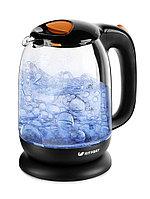 Электрический чайник Kitfort KT-625-3 черно-оранжевый