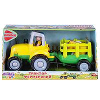Машина Фермерский трактор