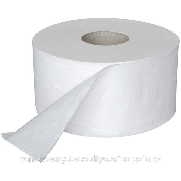 Туалетная бумага, OfficeClean,  Professional, 2-х слойн,170 м/рул, белый.