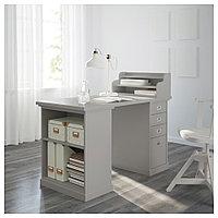 КЛИМПЕН Стол, светло-серый серый, светло-серый 120x60 см