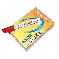 """Маркер""""Flamingo Paint"""" для металла, красный"""