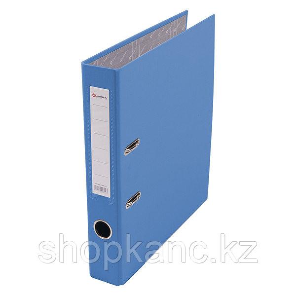 Папка-регистратор, А4, 50 мм, бумвинил/бумага, голубой.