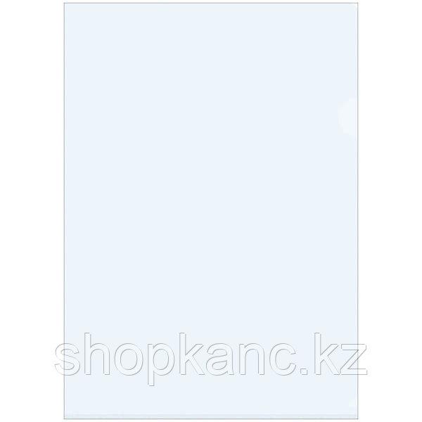 Папка-уголок A4, прозрачная, бесцветная 150 мкм.