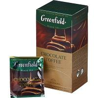 Чай Greenfield, Chocolate Toffee, черный, 1,5 гр х 25 пакетов.