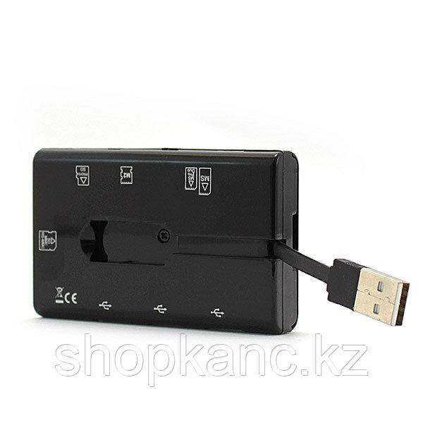 Картридер USB хаб CMCR-B 06