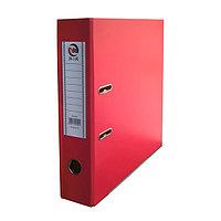 Папка-регистратор, А4, 75 мм, бумвинил/бумага, красный.