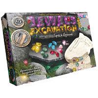 """Набор для проведения раскопок """"JEWERLY EXCAVATION""""  камни"""