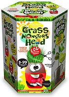 "Набор креативного творчества ""GRASS MONSTERS HEAD Волшебный боб BANG"""