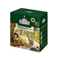 Чай Ahmad Tea, черный листовой, Шоколадный Брауни, в пакетиках-пирамидах 20*1,8г.