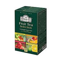 Чай Ahmad Tea, Фруктовая  Коллекция, Ассорти, пакетики в конвертах из фольги, 20*2г.