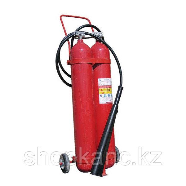 Огнетушитель углекислотный с тележкой ОУ-20
