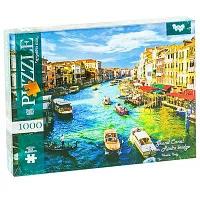 """Пазлы 1000эл """"Гранд-канал от моста Риальто"""" (Венеция, Италия)"""