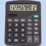 Калькулятор 181x143x55мм, батарейка-таблетка+солнечная батарейка
