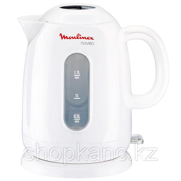 Электрический чайник, 1,7 литра, Moulinex BY282130 Noveo Белый