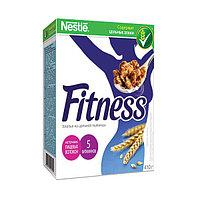 Хлопья Nestle Fitness, из цельной пшеницы, картонная упаковка, 410 гр