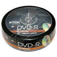 Диски TDK DVD-R 25 шт. шпиндель.