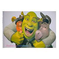 Альбом для рисования, Shrek, А4, 48 листов.