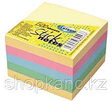 Стикеры миникуб 51*51 мм 250 л (пастел.цвета)