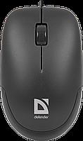 Мышь проводная Defender Datum MM-010 черный