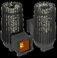 """Печь для бани Cometa 180 Vega Long Window Max.(с внутренний каменкой) 10-24 м3. Grill""""D. Уфа., фото 1"""