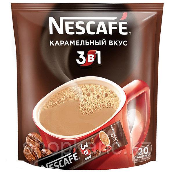 Кофе растворимый 3в1 Карамельный  упаковкам  20шт *16г