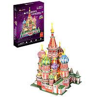 Игрушка Собор Василия Блаженного с подсветкой (Россия)