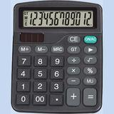 Калькулятор 135x107x35мм, батарейка-таблетка+солнечная батарейка