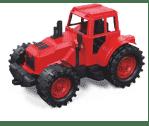 Трактор без ковшей 21см. (красно-черный)