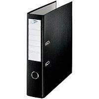 Папка-регистратор, А4, 70 мм, бумвинил/бумага, чёрный.