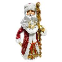 Дед мороз кукла, размер 21*55 см.