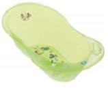 """Ванна детская Tega """"АКВА"""" зеленый, размер 102 см. с термометром,без слива,материал пластик (зеленая)"""