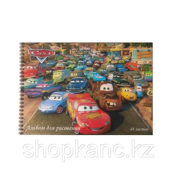 Альбом для рисования, Cars, А4, 48 листов.