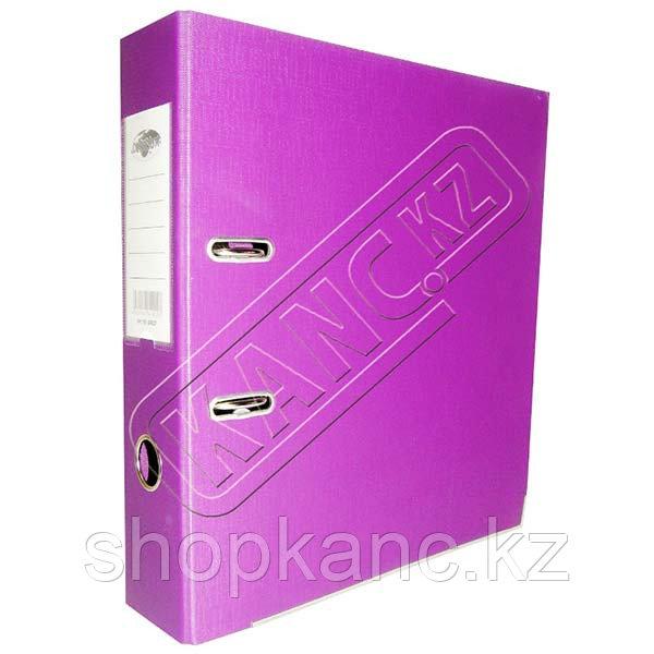 Папка-регистр 8 см. фиолетовая