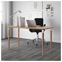 ХИЛВЕР Стол, бамбук, бамбук 140x65 см, фото 1