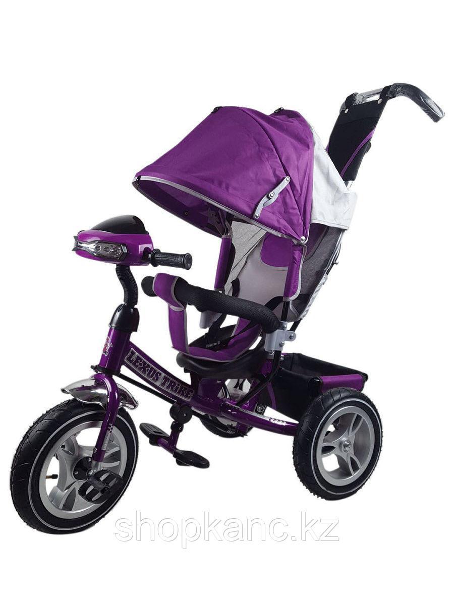 Велосипед Lexus trike 3-колесный, (фиолетовый) надув.
