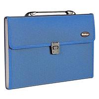 Портфель, 13 разделителей, А4, Standard, синий.