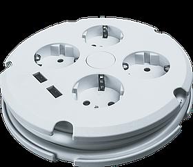 Удлинитель NPE-USB02-04-150-ESC-3X1 с/з выкл.4 гн. 1,5м 61 456 Navigator