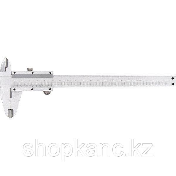 Штангенциркуль, 150 мм, цена деления 0,02 мм, металлический, с глубиномером MATRIX