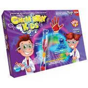 """Безопасный образовательный набор для проведения опытов """"CHEMISTRY KIDS №2"""" эконом (8)"""